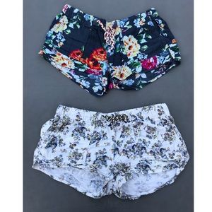Comfortable Floral Shorts